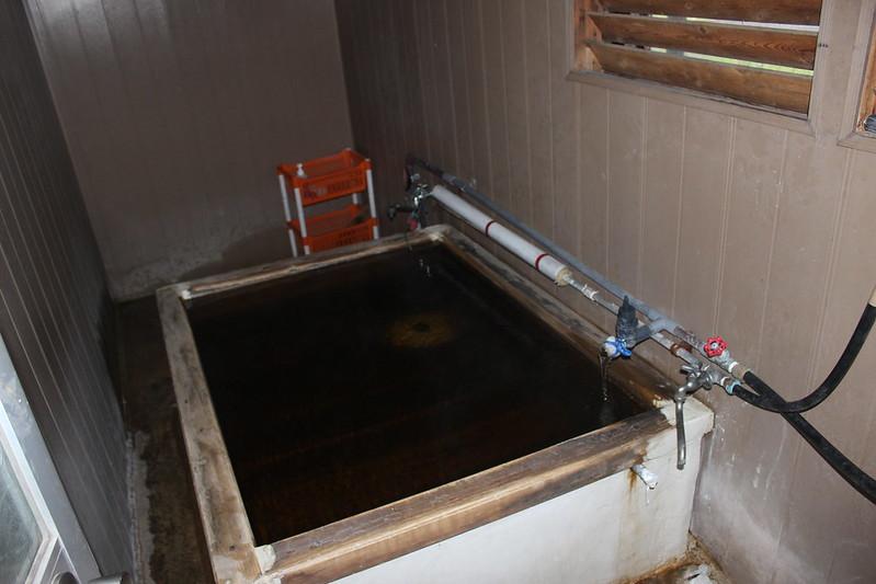 ライダーハウス クリオネのお風呂 その2