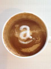 Today's latte, Amazon.