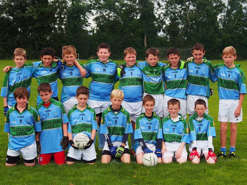 Cuchulainn Gaels V Milltown U13 Team 2012