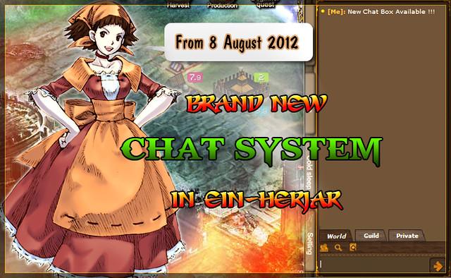 Updated Chat Box in Einherjar
