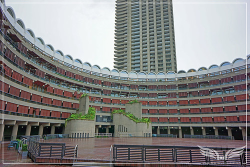 The Establishing Shot: 007 Quantum Of Solace MI6 Film Location - The Barbican, Frobisher Crescent, London by Craig Grobler