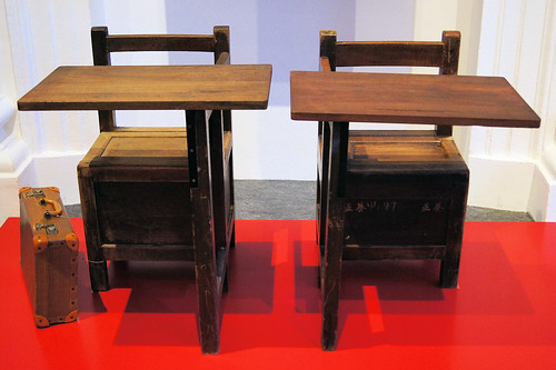 Desks and Chairs from Yeung Ching Primary School (1950s)