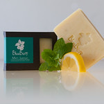 Mint-lemon soap