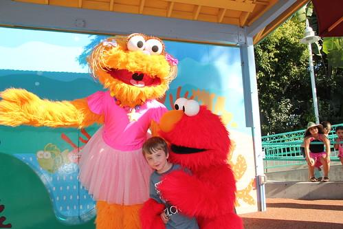Olsen met Elmo