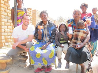 Simon with Siachitema mothers