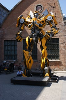 Bumble B from Transformers movie