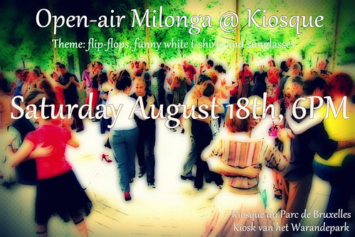 Milonga @ Kiosque 18 August