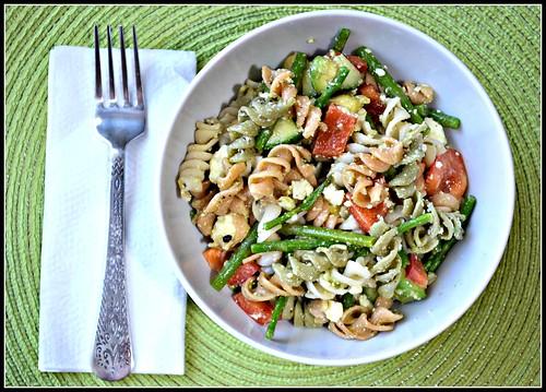 spelt pasta salad 1