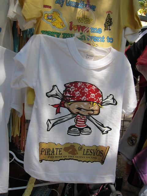 The pirate of Lesvos in touristic season