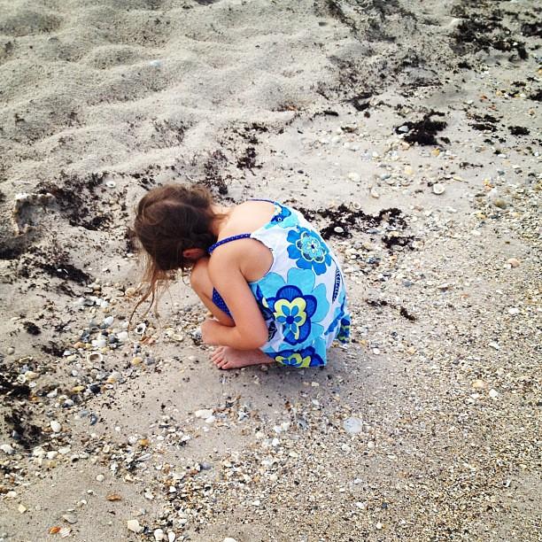 She sells seashells down by the shore...