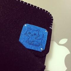 abicaseカラーフェルトケース。MacBookAir13用♪( ´θ`)ノ