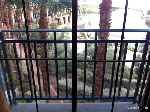 balcony. Westin Lake Las Vegas