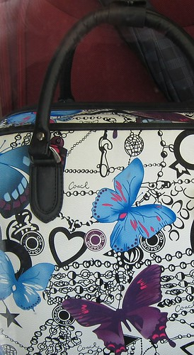 Buttefly bag in Prague by Anna Amnell
