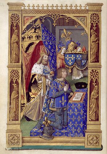 013-Libro de horas de Carlos VIII Rey de Francia -1401-1500-Copyright Biblioteca Nacional de España