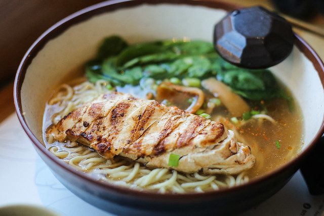 Wagamama - Chicken Ramen | Flickr - Photo Sharing!