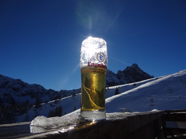 Beer + Mountians - tourists = great vacation