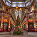 The Leadenhall Market is ready for Christmas (HDR) by Alexandre Moreau | Photography