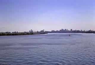 Delaware River - from Philadelphia in '72