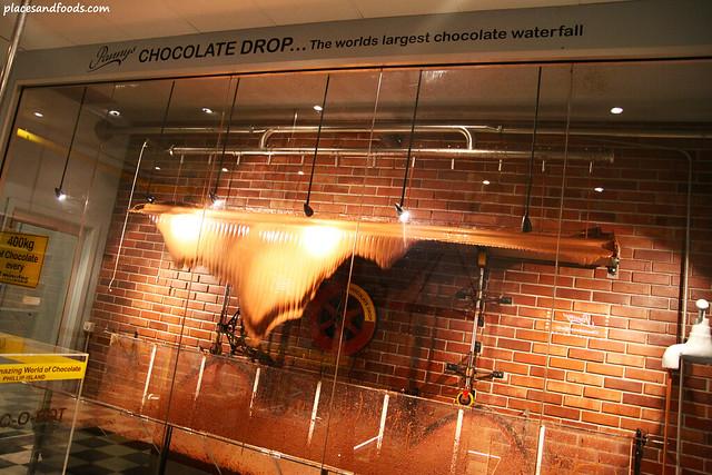 philip island chocolate waterfall
