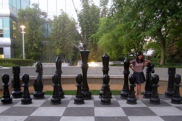 life size chess set at yahoo burbank flickr photo