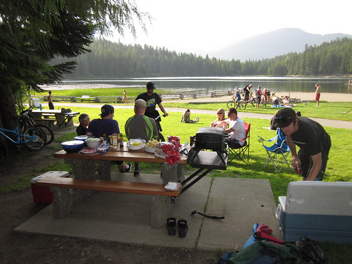 T2R July 2012. Whistler Barbecue at Lost Lake