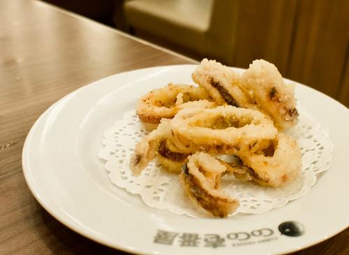 Japanese's Fried Squid ปลาหมึกทอด