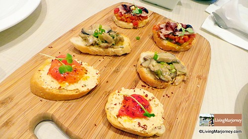 Crostinis Three Ways