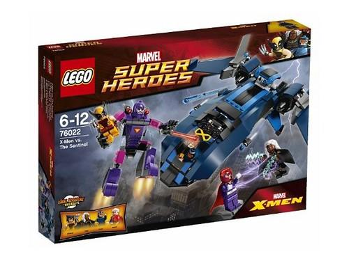 76022 X-Men vs The Sentinel BOX1