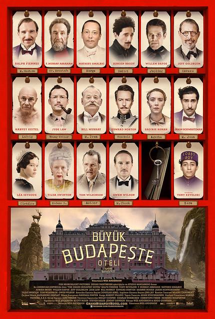 Büyük Budapeşte Oteli - The Grand Budapest Hotel (2014)