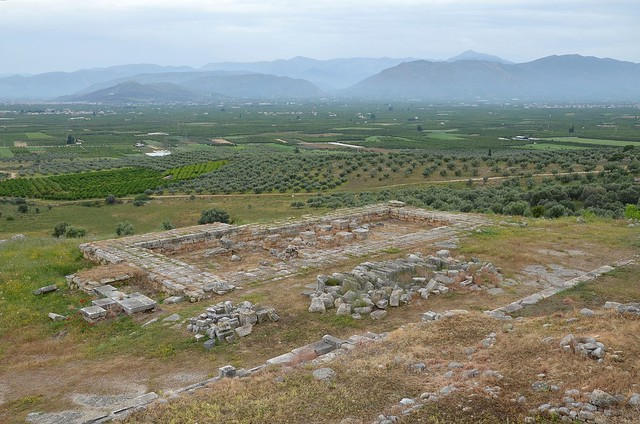 Overall view of New Temple of Hera, Heraion of Argos, Greece