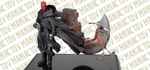 Darth-Maul-and-his-Sith-ship-Bloodfin