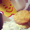 Nostalgic about buttery biscuits and the @hardees smiling star! :sparkles: