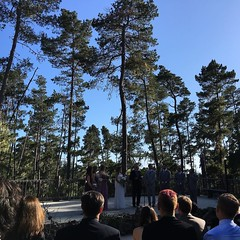 #desi&josiahgothitched and another beautiful camp wedding is in the books...