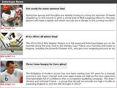 Intertops Sportsbook News