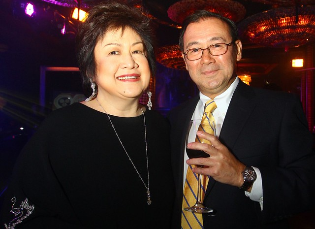 Virgie Ramos and Teddy Boy Locsin