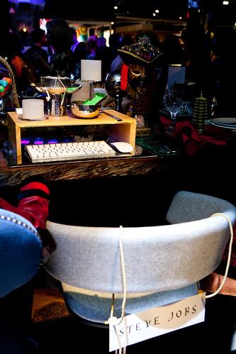 Steve Jobs' seat