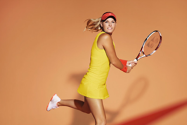 Caroline Wozniacki's 2012 French Open dress