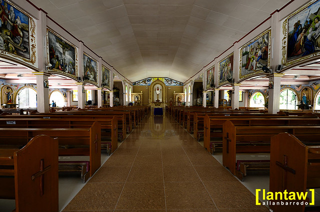 Larena Church Interior 4