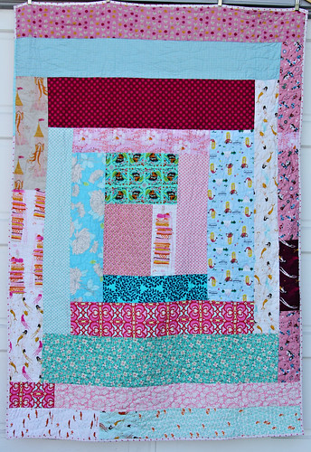 Fairyland Cabin Quilt