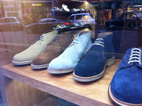 Grenson window display
