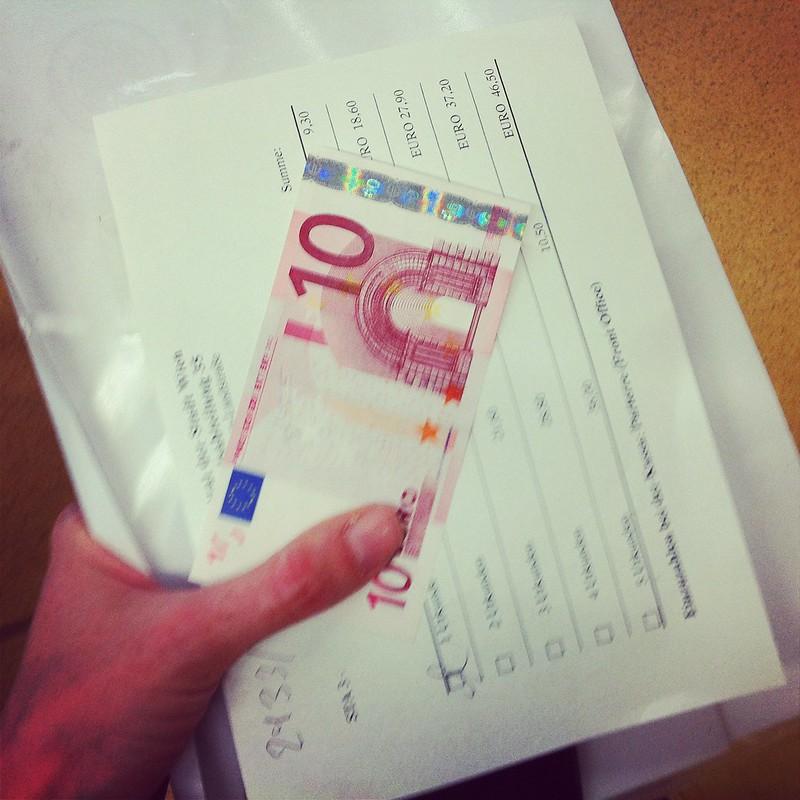 10.- für 1x Urkunde ...