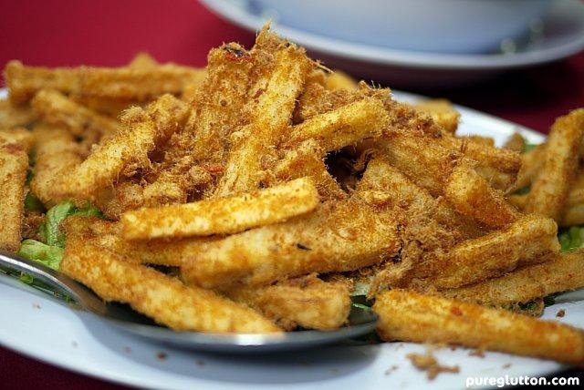 fried brinjals