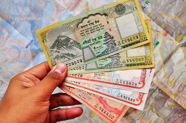 Nepali Bank Notes, Nepal