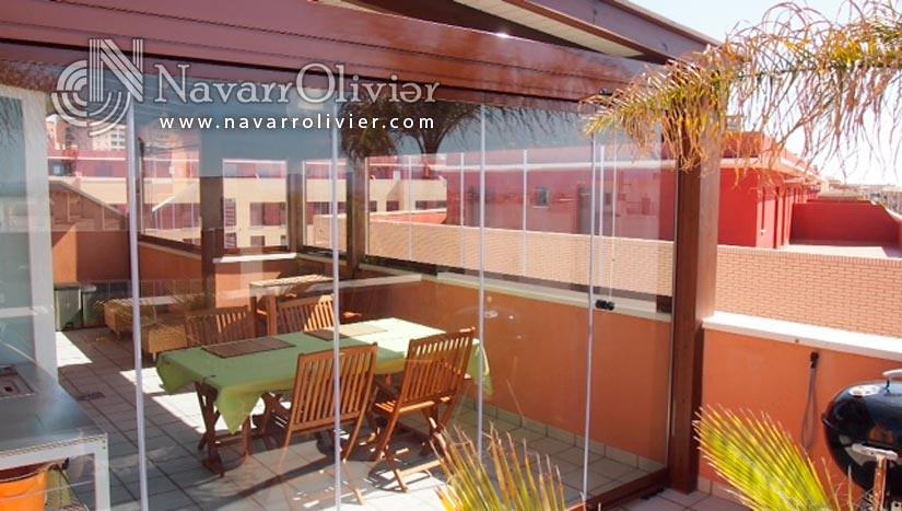 Navarrolivier estructuras de madera pergolas y 39 s most - Cerramiento de madera ...