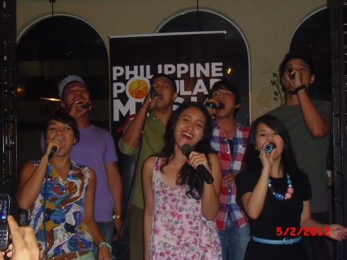 Ryan Cayabyab Singers at PhilPOP Bloggers Night Event