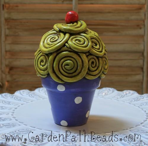 Clay Cupcake
