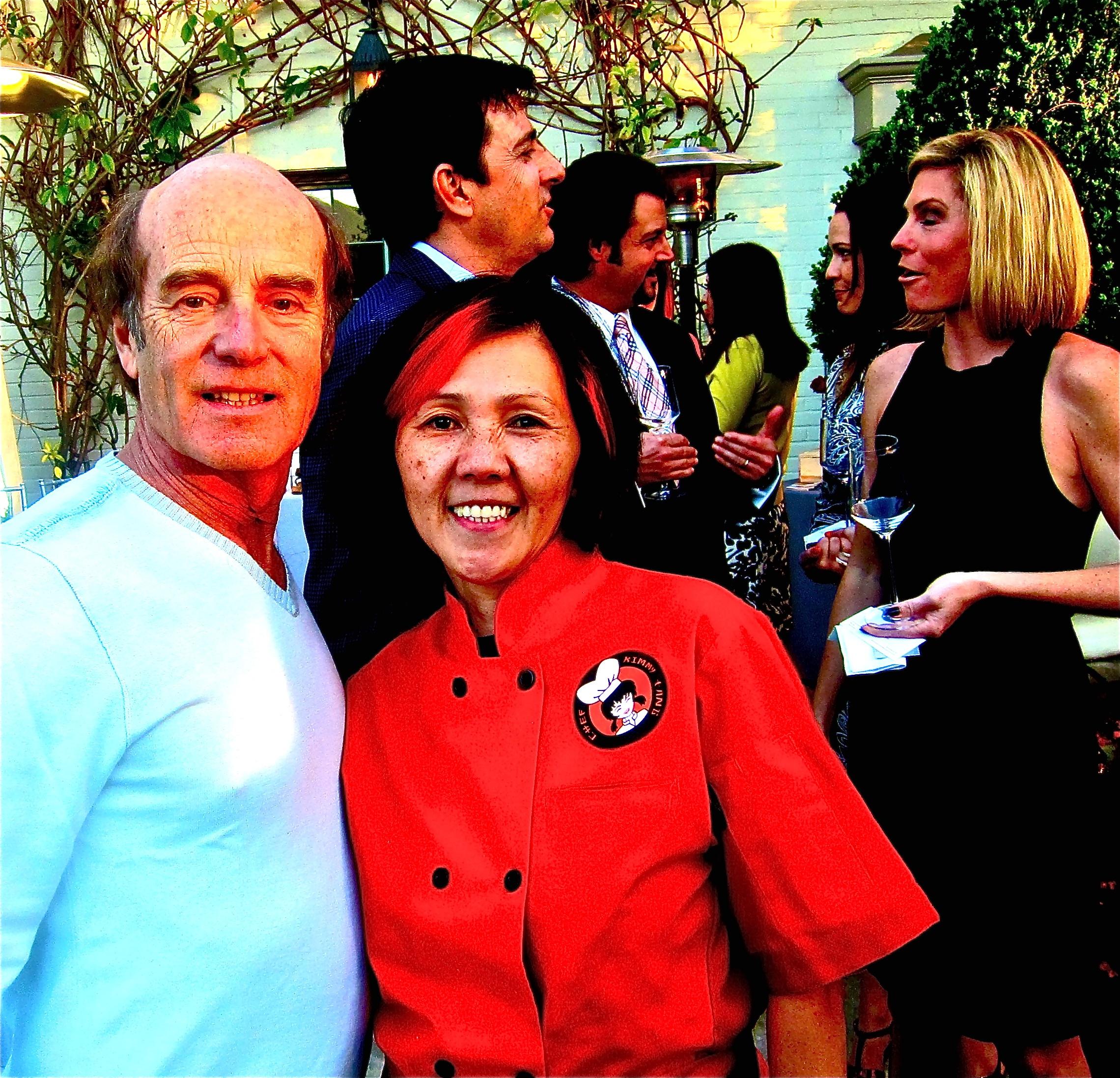 Host Skip Brittenham & Pho Chef Kimmy Tang
