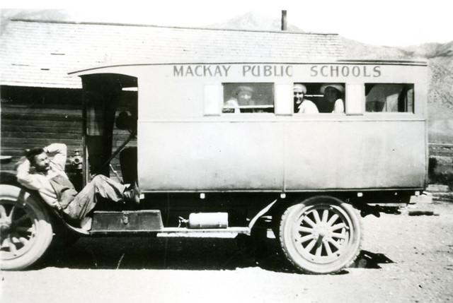 Mackay, Idaho School bus