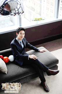 "Lee Je Hoon ""Fashion King"" Photo Collection"