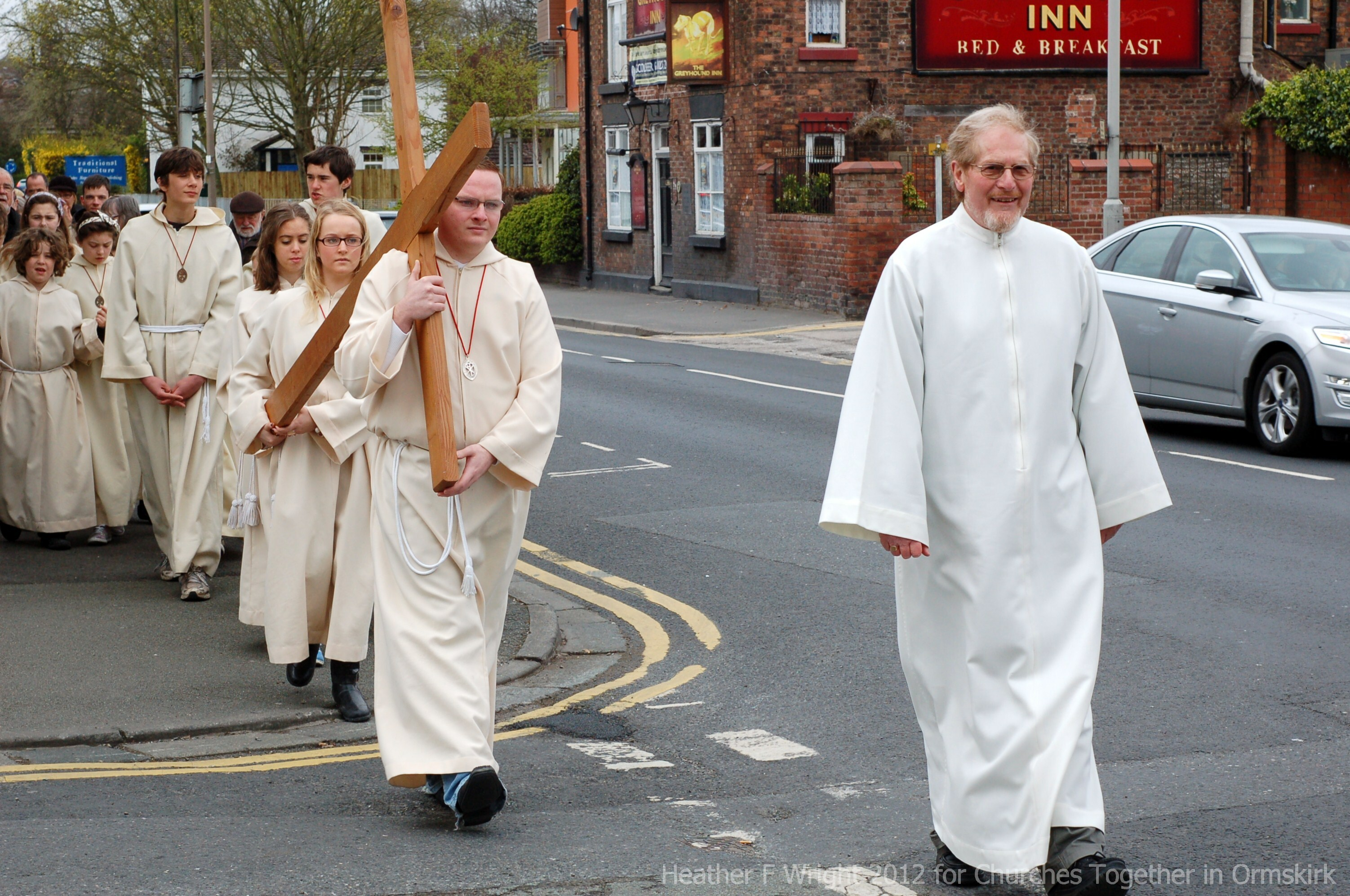 Ormskirk Walk of Witness 2012